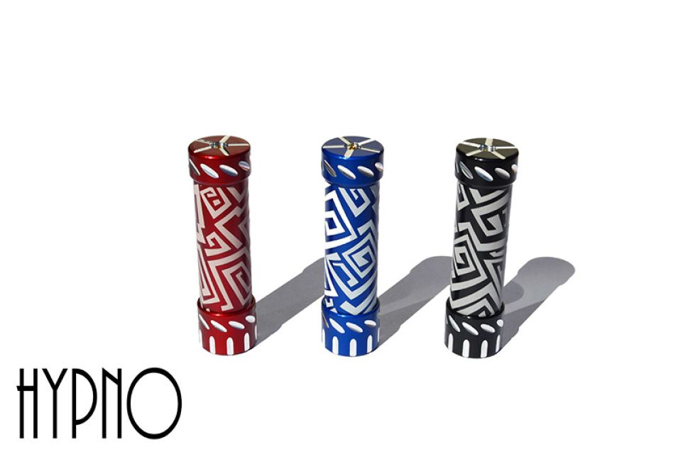 The Mad Hatter v2 mechanical mod, available ONLY at Nevada Vapor and www.nevadavapor.com