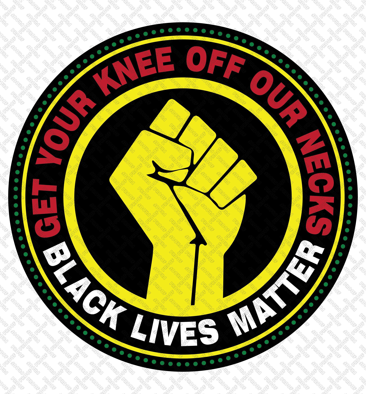 Get Your Knee Off Our Necks svgBlack lives matter svgI Can/'t Breathesvg files for cricutJustice for George svg eps pdf png jpg