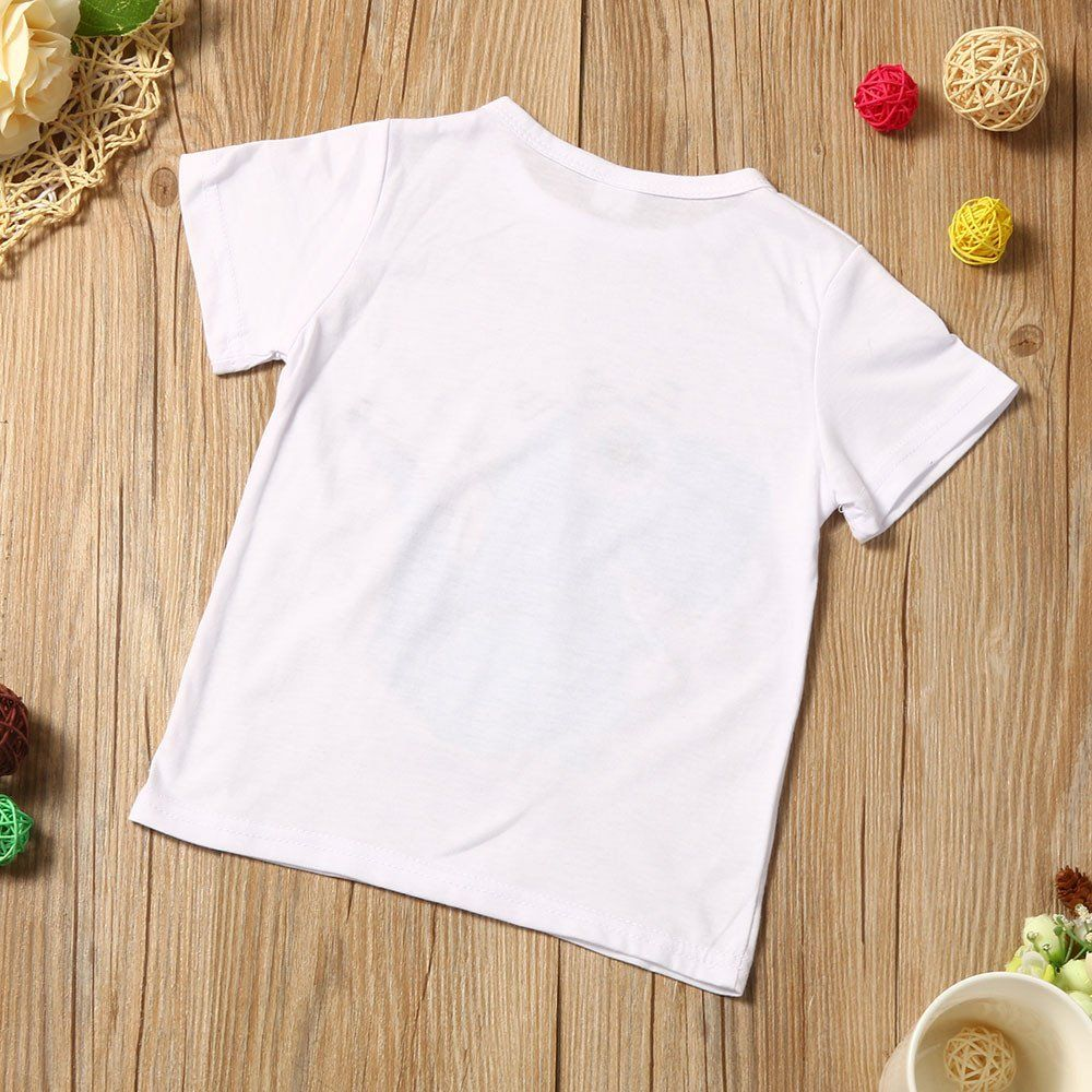 Landfox Toddler Kid Baby Boys Clothes Outfits Set Cartoon Printing Tshirt Short Pants 3 4t White Click On The Outfit Set Clothing Mockup T Shirt Costumes [ 1000 x 1000 Pixel ]