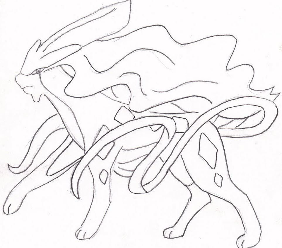Suicune Pokemon Coloring Pages Pokemon Coloring Pages Pokemon