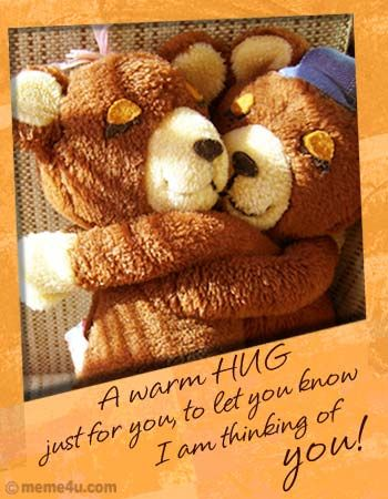 Hugs And Kisses For You : kisses, Awe.Sweetness!!!, Quotes,, Teddy, Kisses, Quotes