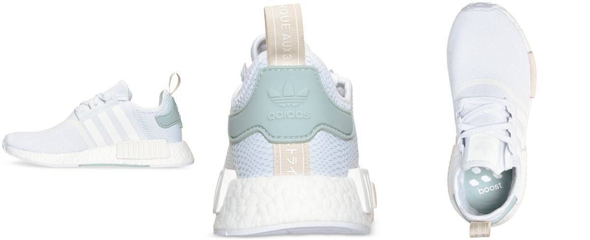 8db5bc45694 adidas Women s NMD Runner Casual Sneakers from Finish Line - Finish Line  Athletic Shoes - Shoes - Macy s