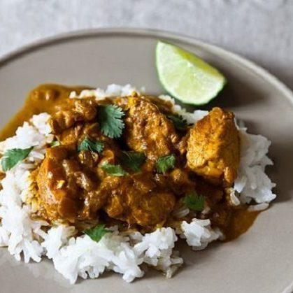 The Modern Chef: Creamy Chicken Curry