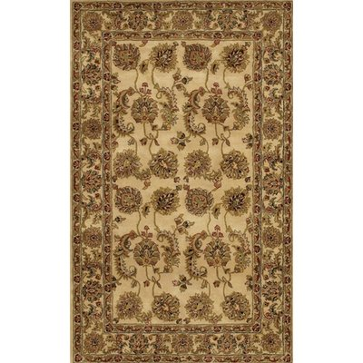 Astoria Grand Cleo Hand Tufted Wool Brown Tan Area Rug Rug Size