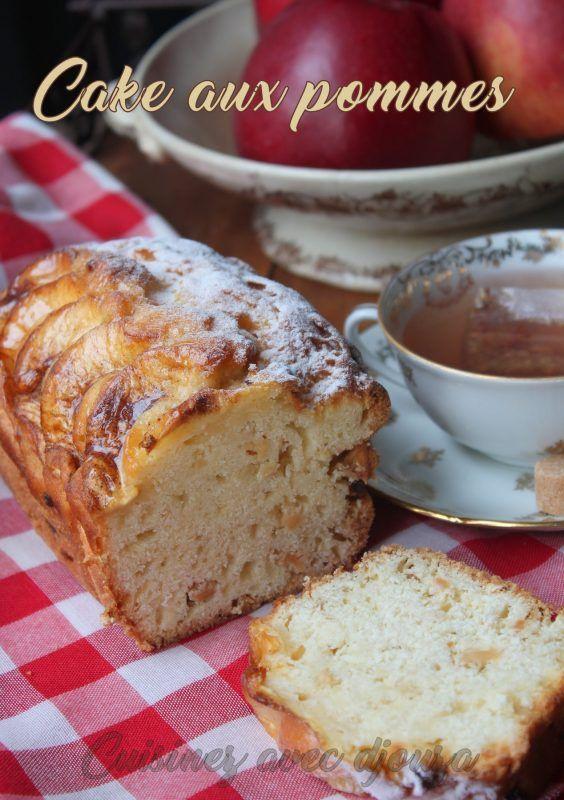 Un Délicieux Cake Aux Pommes Très Gourmand Moelleux Et Facile à