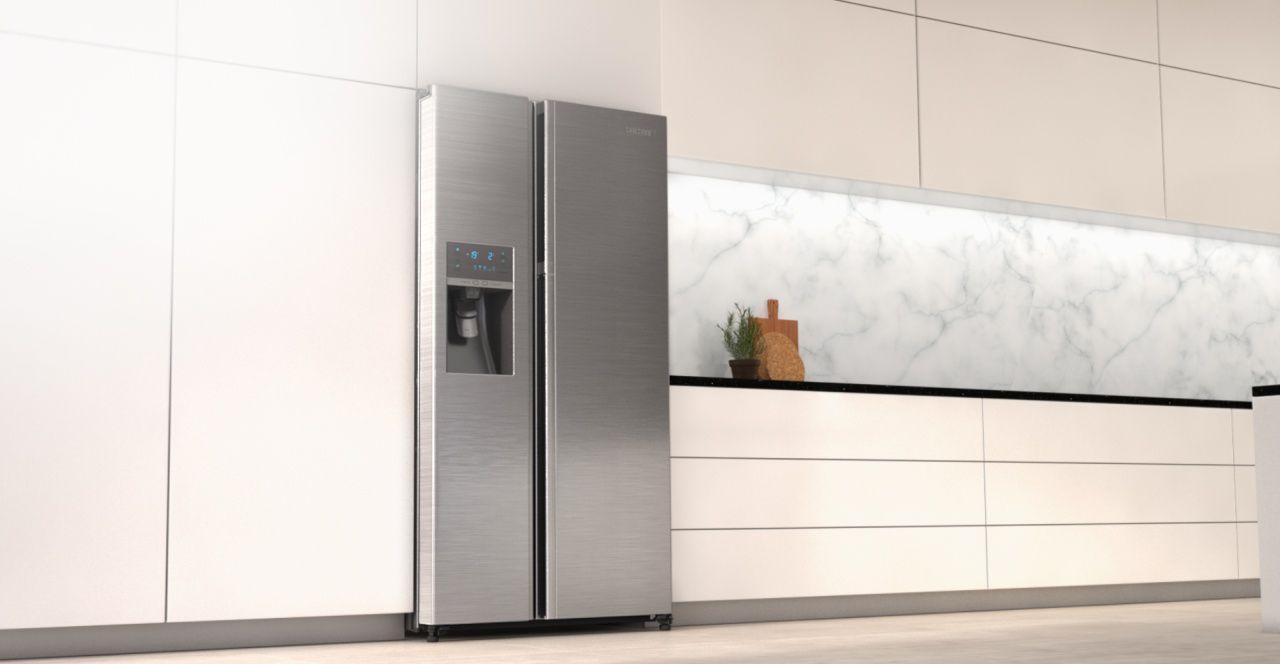 Roter Side By Side Kühlschrank : Küche mit side by side der perfekte kühlschrank küche kaufen