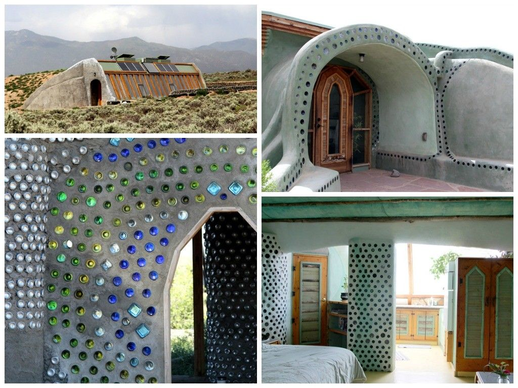 Crazy Cool and Ingenius Earth-ships #Architecture, #Furniture, #Reuse