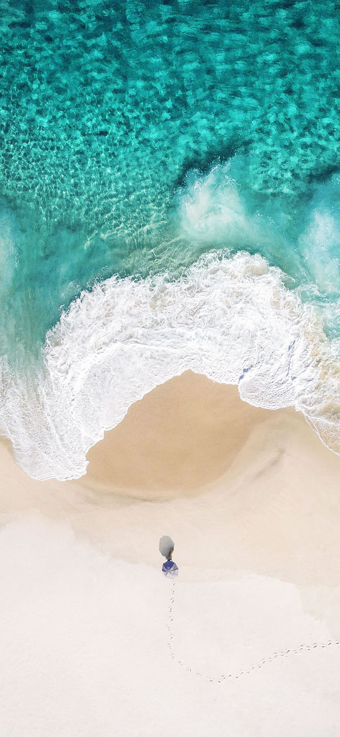 Summer Ocean iPhone X Wallpapers Beach phone wallpaper