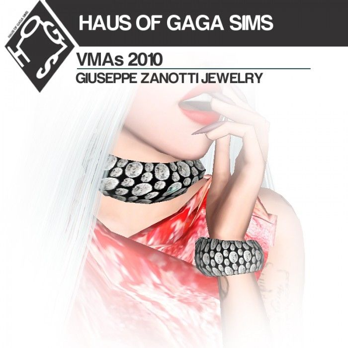 MTV VMAs 2010 JEWELRY by MarcSims3 - Sims 3 Downloads CC Caboodle