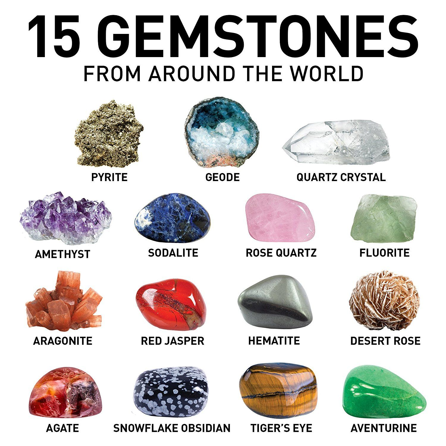 Amazon Com National Geographic Mega Gemstone Mine Dig Up 15 Real Gems Toys Games Buy Gemstones Opals For Sale Gemstones For Sale