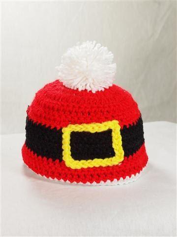 Cute! #crochet # hat #gift #holiday #Christmas #santa | My Style ...
