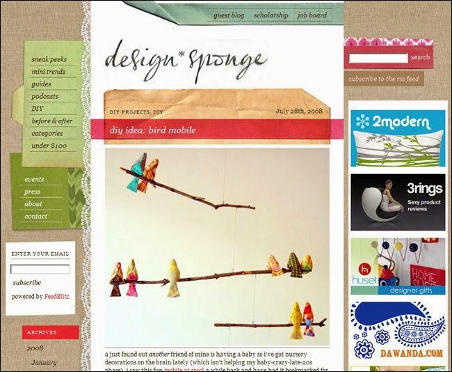 Furniture Weekly: Design Sponge