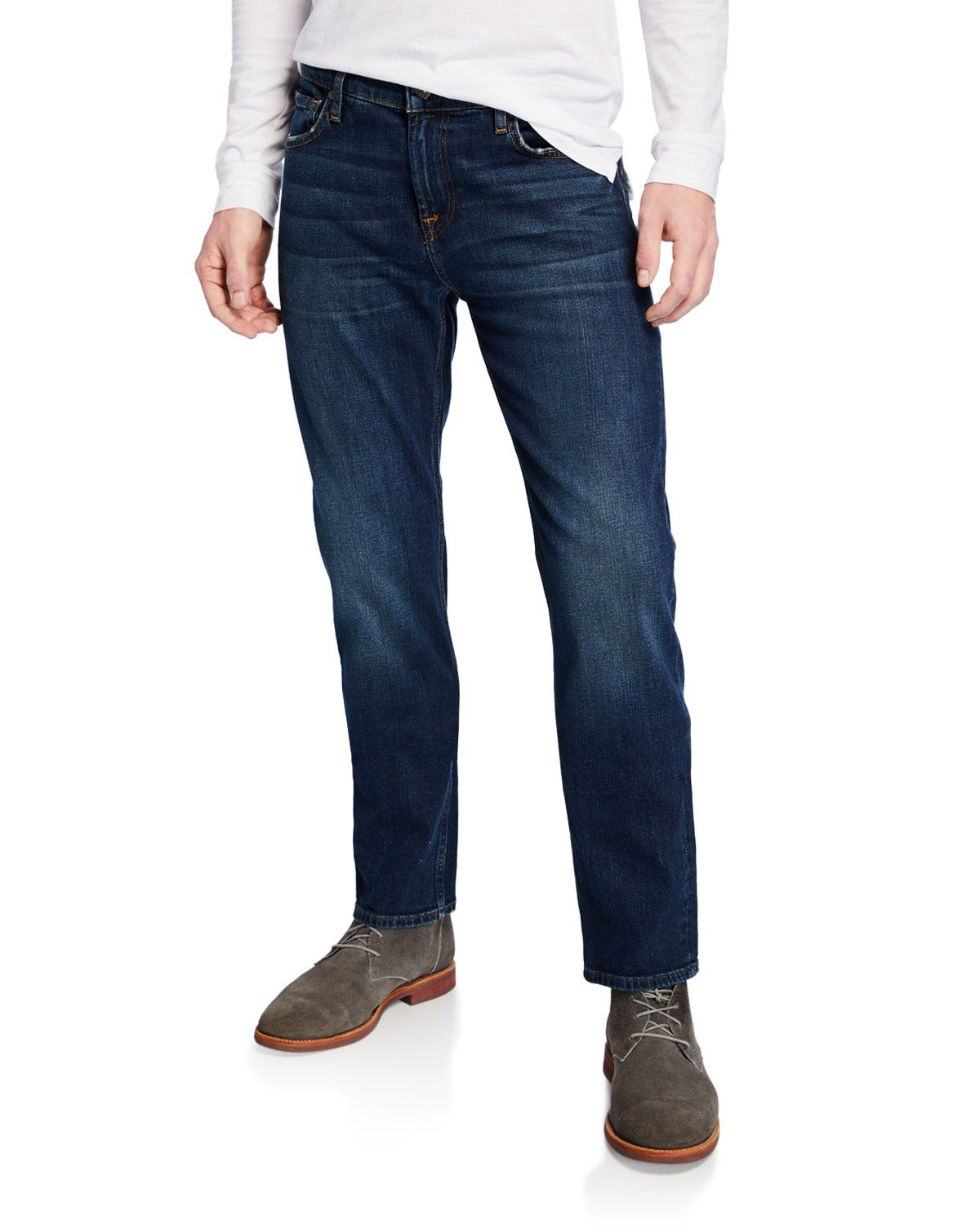 f65191fc 7 FOR ALL MANKIND MEN'S SLIMMY ENTERPRISE DENIM JEANS. #7forallmankind  #cloth