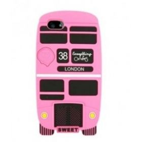 Lovely Candies Cliche London Bus Silicon Case for iPhone 5