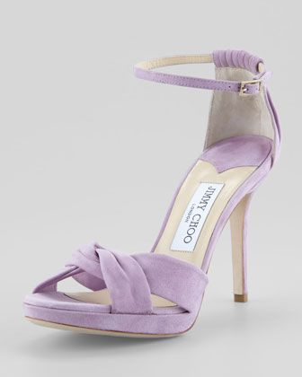 Jimmy Choo Marion Suede Pumps