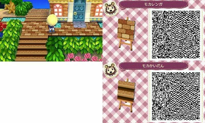 Pathway Qr Codes For Animal Crossing New Leaf Qr Codes Animals Leaf Animals Animal Crossing 3ds