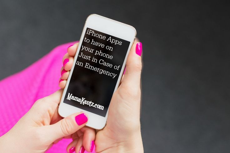 iPhone Apps to have Just in Case of an Emergency