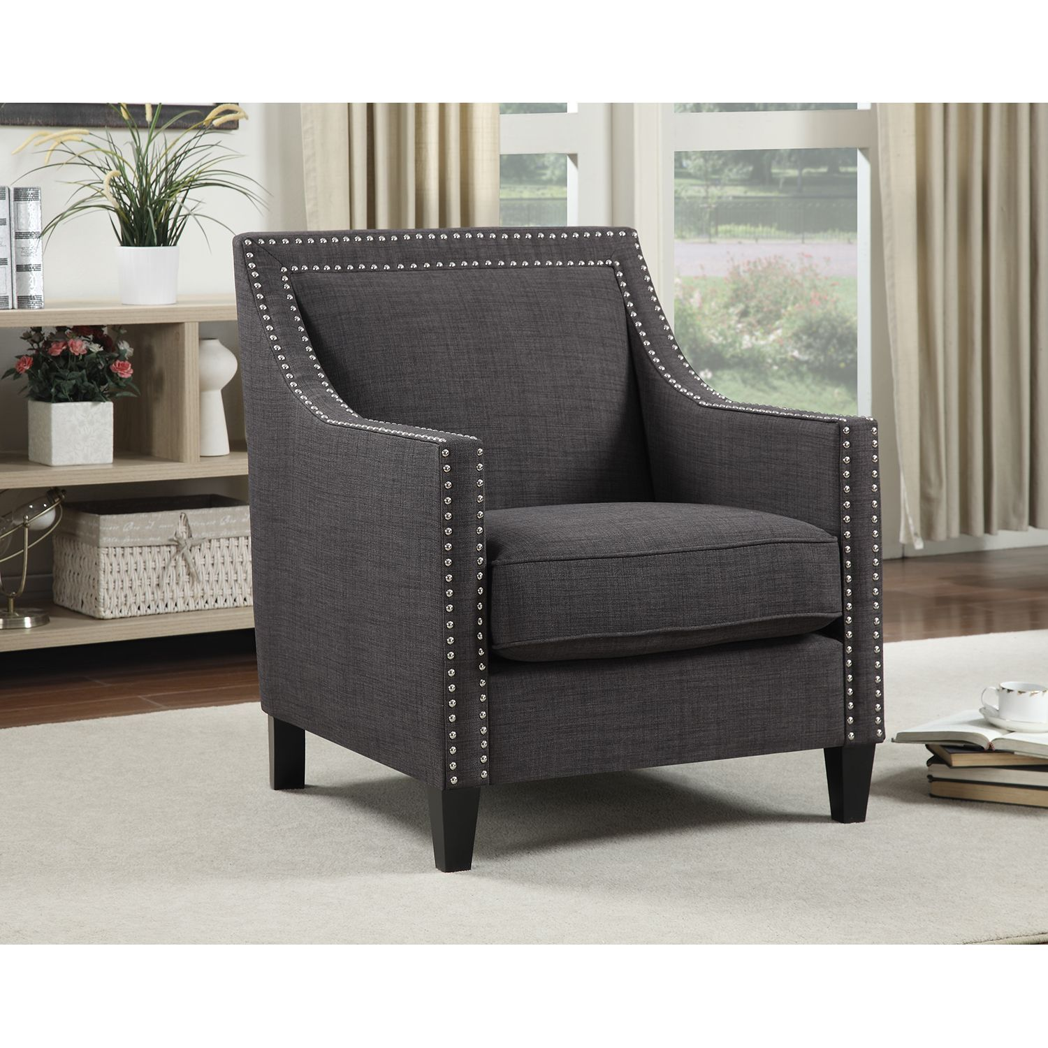 Emery Upholstered Chair (Assorted Colors) | Housewarming ...