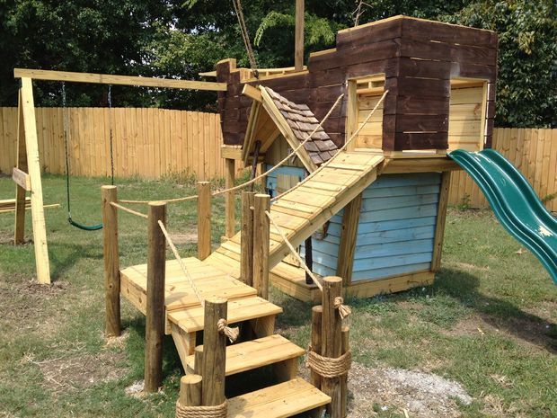 awesome ship playground kids playhouse pinterest. Black Bedroom Furniture Sets. Home Design Ideas