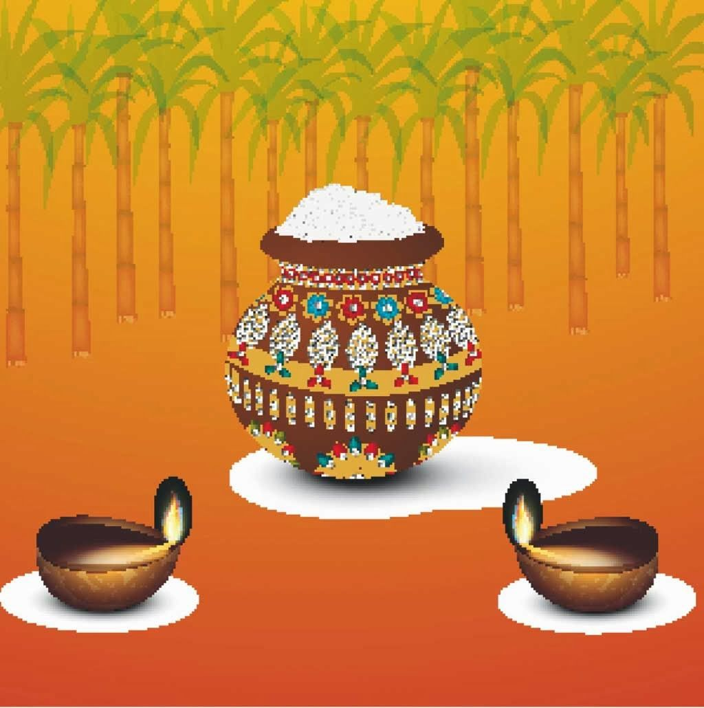 Happy Pongal Greetings Sms Messages In Hindi And Tamil God