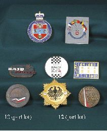 International Rally Competitors Badges Including East African