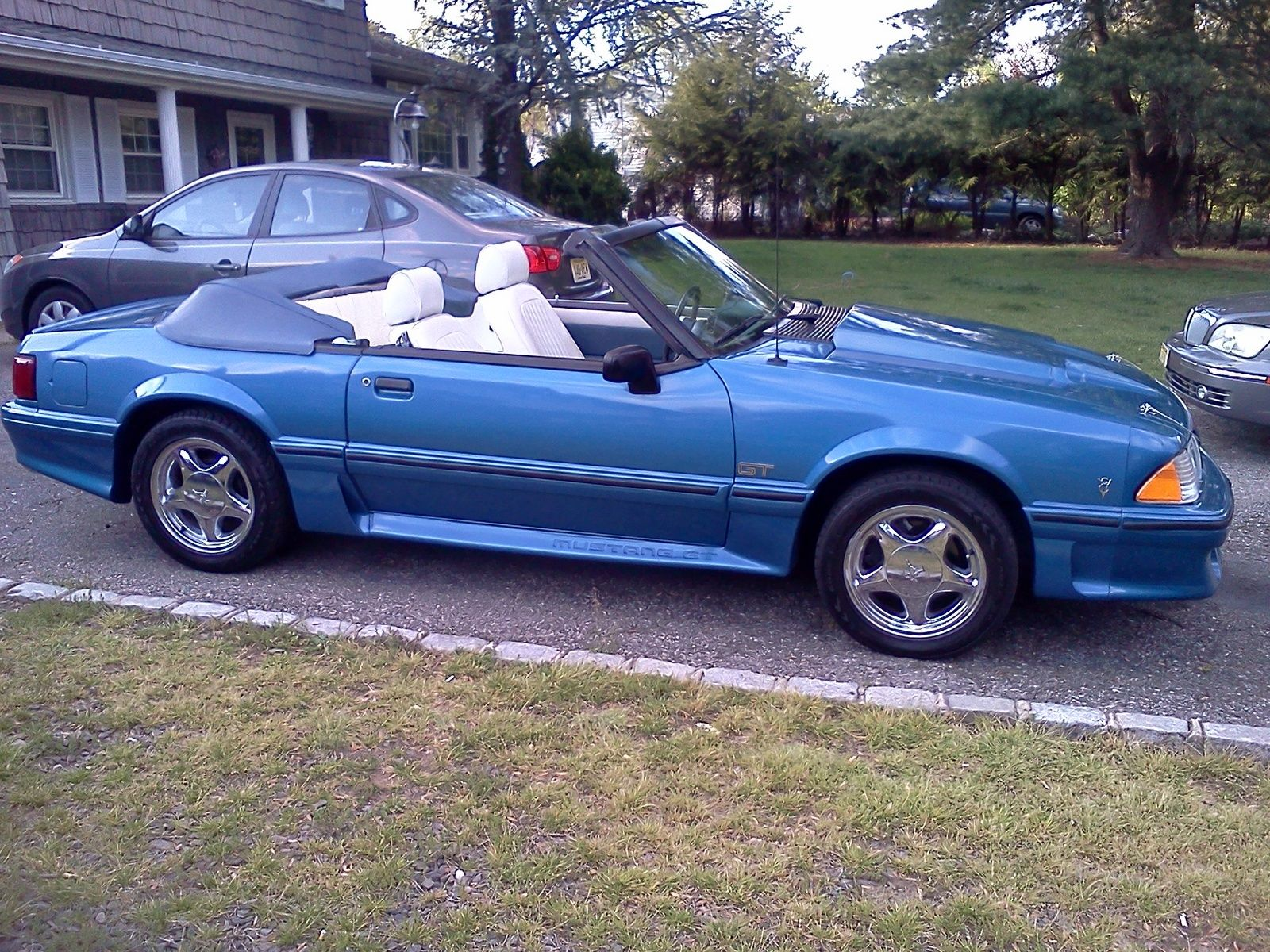 1987 Ford Mustang Pictures Cargurus Ford Mustang Fox Body Mustang Mustang
