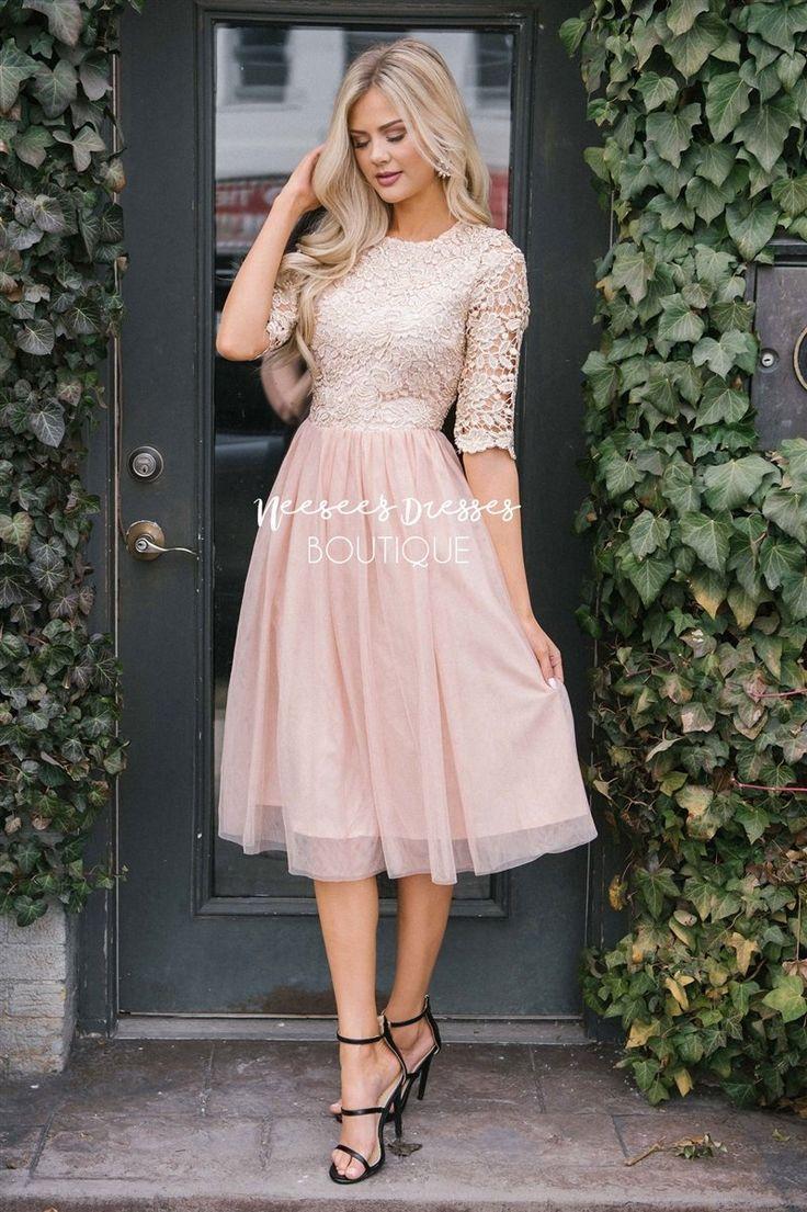 das arabella tüllkleid   bescheidene kleider, kleider für