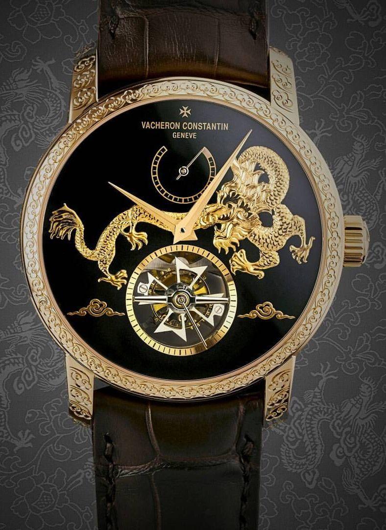251381e1b9c Best watches vacheron Constantin dragon Relógios De Luxo