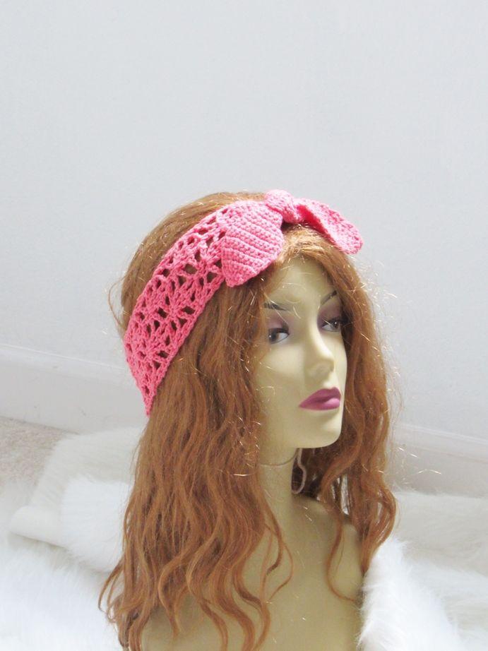 Crochet Headband Pattern For Women Crochet Pinterest Crochet