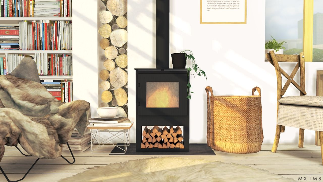 Mxims: U201c The Morsø Wood Burning Stove U2022 10 Swatches With 2 Glass Door  Version
