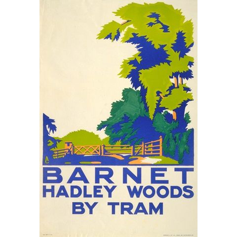 Barnet; Hadley Woods - Aldo Cosomati (1923)