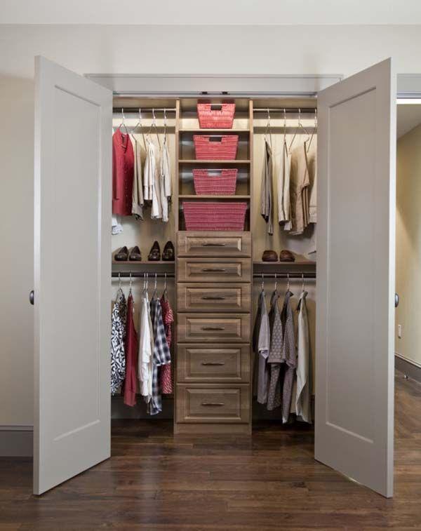 Small Bedroom Closet Design Ideas Glamorous Closet Gallery  Closet Organization Ideas  Bedroom  Pinterest 2018