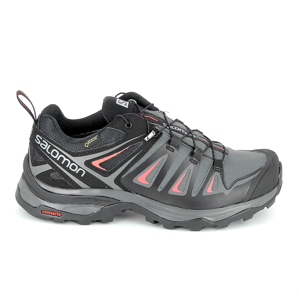 X GrisChaussures Femme 3 Gtx Salomon Ultra Trail Yfyb7gI6v