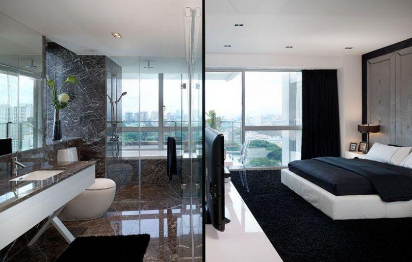 A Disturbing Bathroom Renovation Trend To Avoid  Open concept