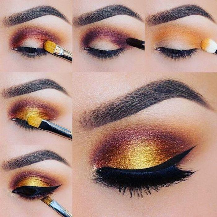 ▷ 1001 + consejos e ideas para aplicar ojos marrones