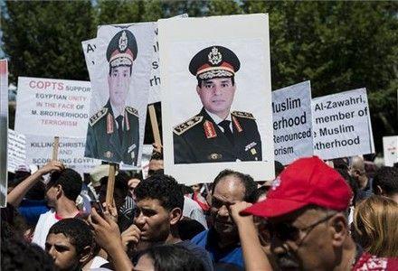 Generales egipcios 'made in USA'