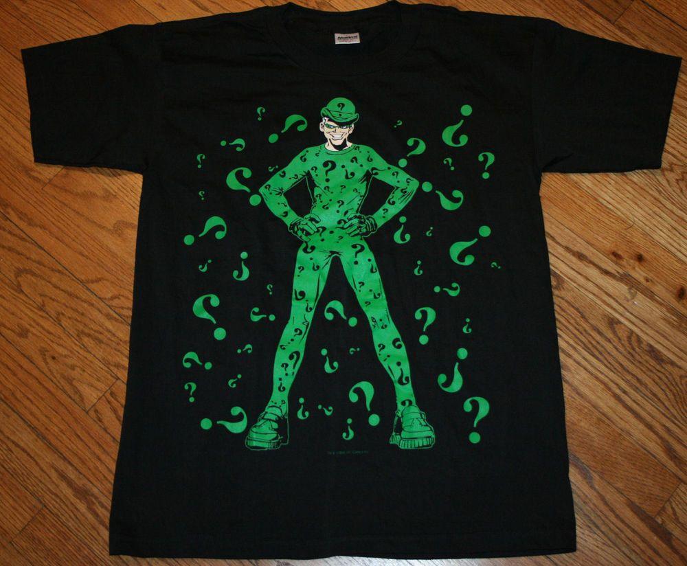 batman riddler t shirt