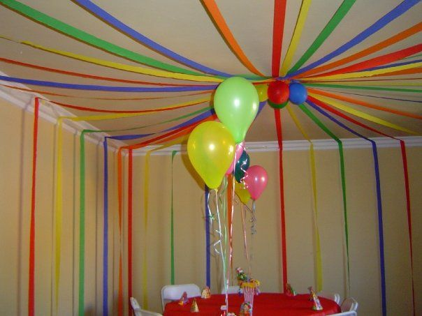 Best 25 streamer ideas ideas on pinterest streamer for Balloon and streamer decoration ideas