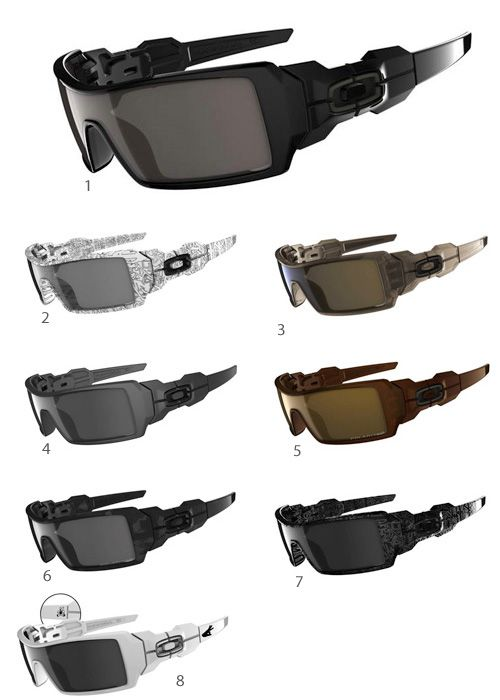 Oil Rigs Oakley Sunglasses