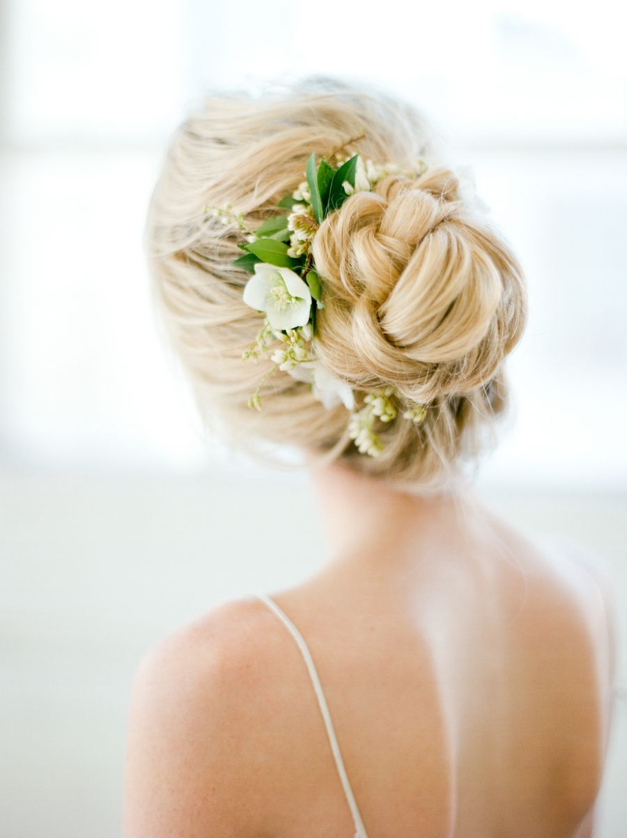 Style me pretty closure us wedding blog hair styling pinterest