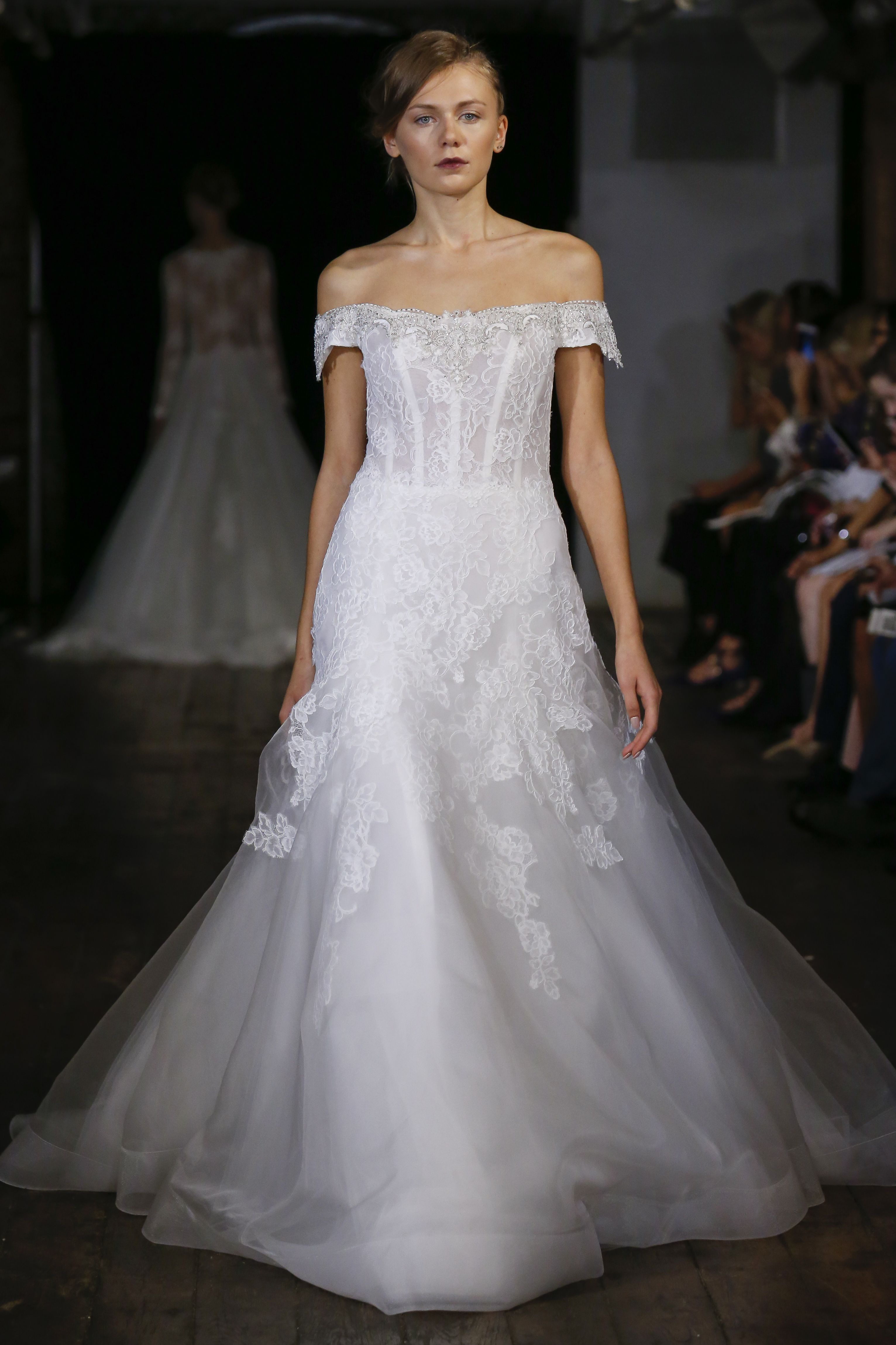 Wedding Wedding Dresses Orlando a line lace and embroidered wedding dress from rivini by rita vinieris fallwinter
