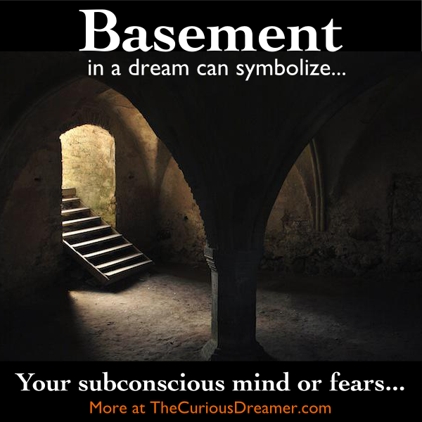 A Basement In A House Or Building Can Have This Dream