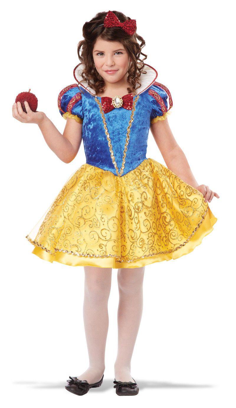 Snow White Deluxe Princess Disney Character Child Costume ...  Original Snow White Costume