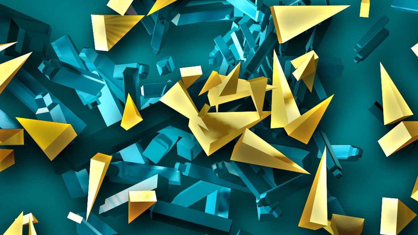 3D Abstract Desktop Wallpaper
