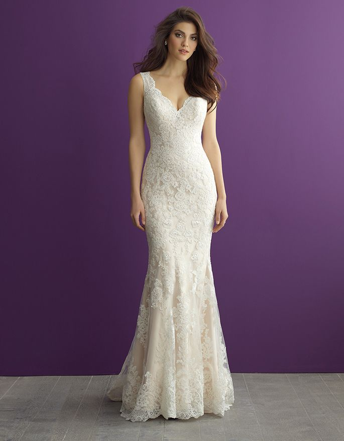 Dress Gallery | Pinterest | Allure romance, Wedding dress and ...
