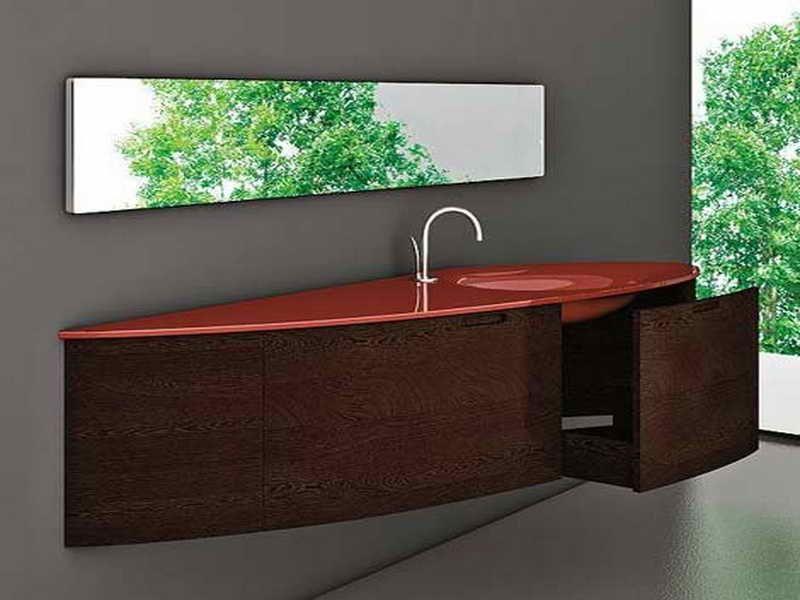 extraordinary black bedroom vanity   Amazing Bathroom Vanities Design With Extraordinary Half ...
