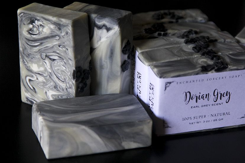 Dorian Grey, scented with Earl Grey by Sorcery Soap™