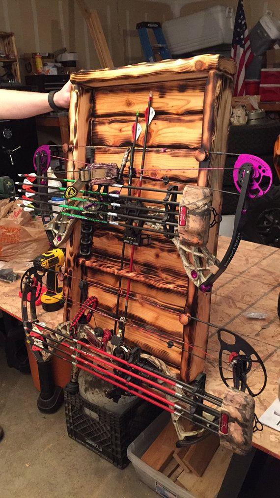 Bow Rack Double Bow And Arrow Holder Archery Bow Rack Bow