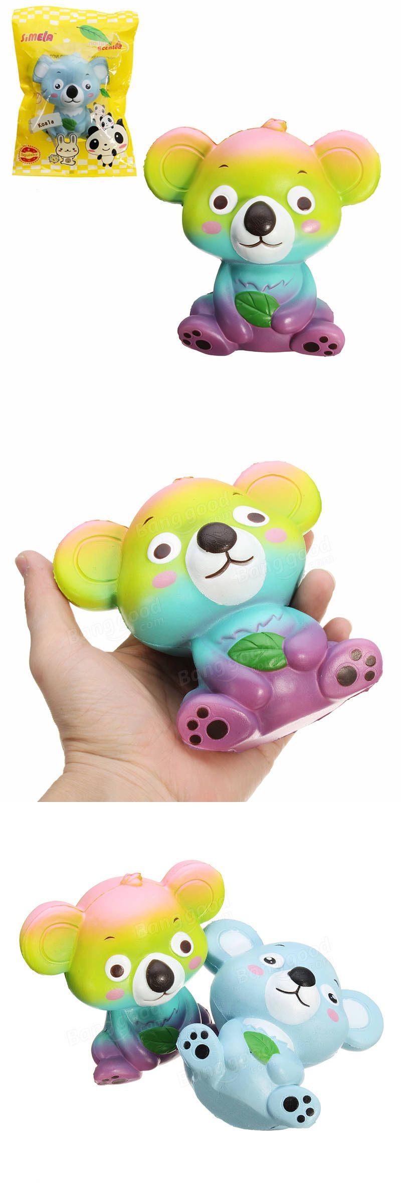 Simela Squishy Koala 12cm Bear Collection Gift Slow Rising