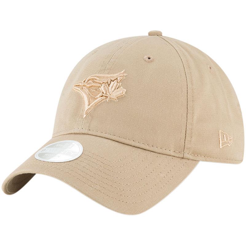 new concept 30b36 bca69 Toronto Blue Jays New Era Women s Core Classic Twill 9TWENTY Camel  Adjustable Hat – Brown